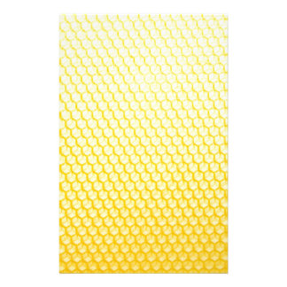Bee honeycomb stationery