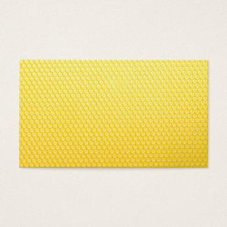 Bee honeycomb visiting card collecting main