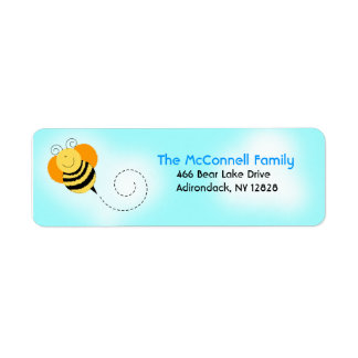 Bee Hop Bumble Bees PRINTABLE ADDRESS LABELS