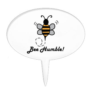Bee Humble! Cake Picks