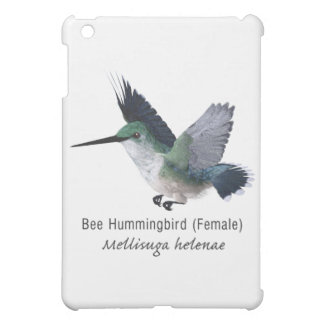 Bee Hummingbird Female with Name Cover For The iPad Mini