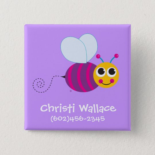 Bee Identification Button