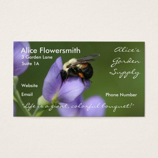 Bee in Indigo - Business Card