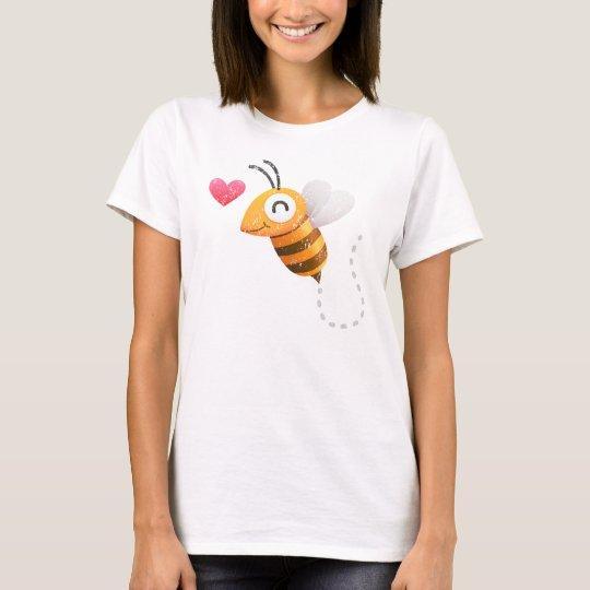 Bee in love (grunge) T-Shirt