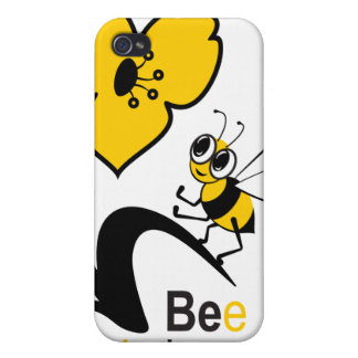 Bee in love case for iPhone 4
