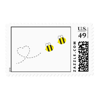 Bee in Love Stamps