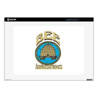 Bee Industrious Decals For Laptops