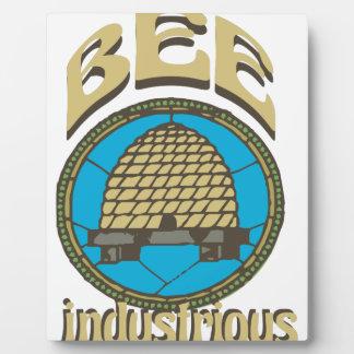 Bee Industrious Plaque