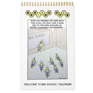 """Bee-ing Apis """"Welcome to Bee School"""" Calendar"""