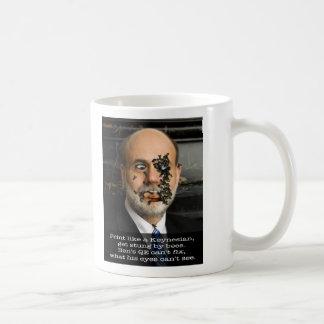 Bee-ing Ben Bernanke Coffee Mugs