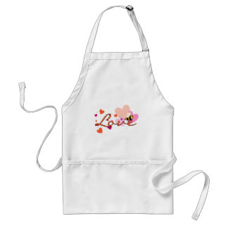 Bee-ing in Love Valentine Adult Apron