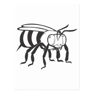 Bee Insect Postcard