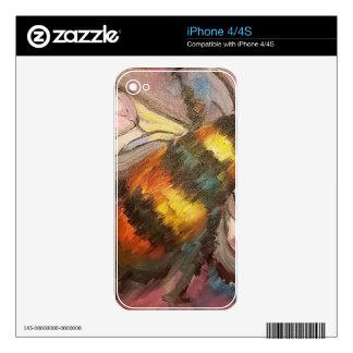 Bee iPhone 4 Decals