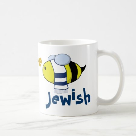 """Bee Jewish"" Coffee Mug"