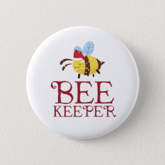 Bee Keeper Christmas Edition Button