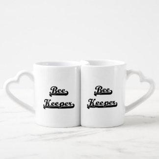 Bee Keeper Classic Job Design Couples' Coffee Mug Set