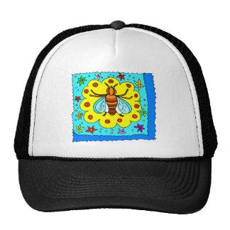 BEE KEEPER DESIGN TRUCKER HAT