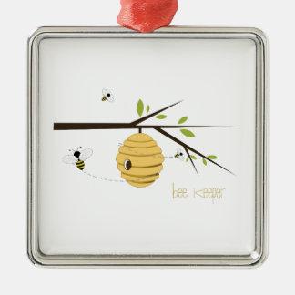 Bee Keeper Christmas Tree Ornament