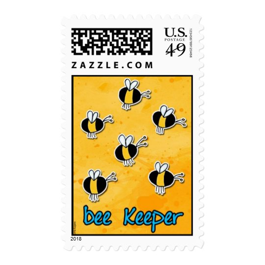 bee keeper postage