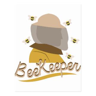 Bee Keeper Postcard