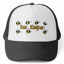 bee keeper trucker hat