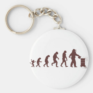 Bee Keepers gifts Basic Round Button Keychain