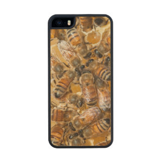 Bee keeping at Arlo's Honey Farm Wood Phone Case For iPhone SE/5/5s