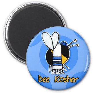bee kosher 2 inch round magnet