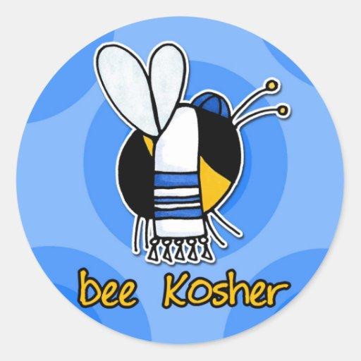 bee kosher sticker