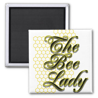 bee lady magnet
