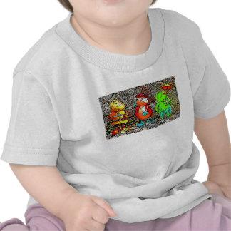 Bee Ladybird and Frog Kids T-Shirt