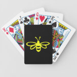 Bee (lemon colored) deck of cards