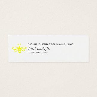 Bee [lemon] mini business card