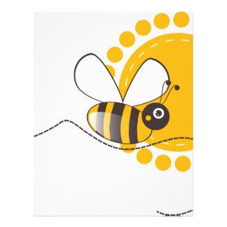 Bee Letterhead
