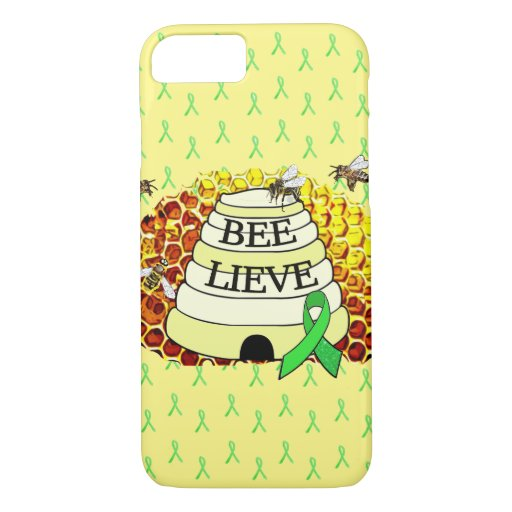 Bee-Lieve Honeycomb Bee Phone Case