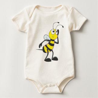 Bee Listening Baby Bodysuit