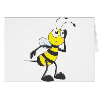 Bee Listening Card