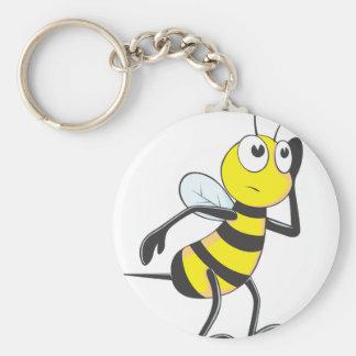 Bee Listening Keychain