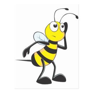 Bee Listening Postcard