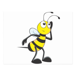 Bee Listening Post Card