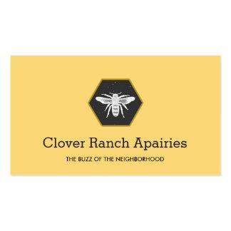 Bee Logo Beekeeping Apairy  Business Card