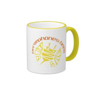 Bee-logo Ringer Coffee Mug