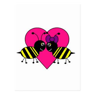 Bee Love Postcard