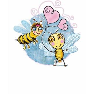 Bee Love t-shirt - TBA shirt