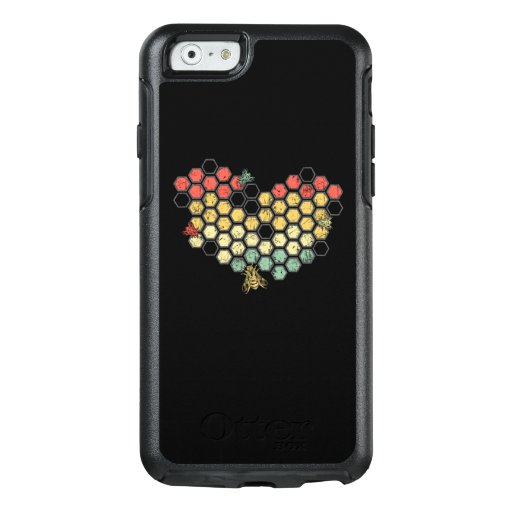 Bee Lovers | Retro Vintage Honeycomb Costume OtterBox iPhone 6/6s Case