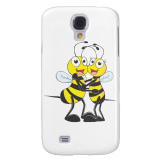 Bee Lovers Samsung Galaxy S4 Case