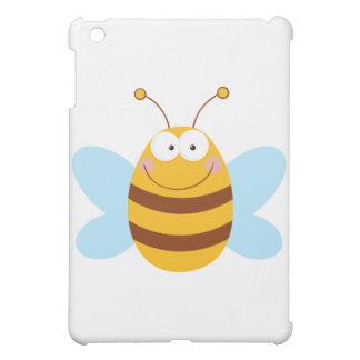 Bee Mascot Cartoon Character Cover For The iPad Mini