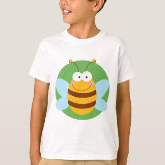 Bee Mascot Cartoon Character T-Shirt