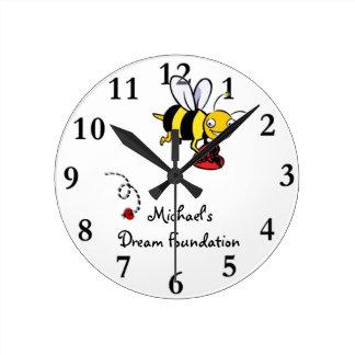 Bee MDF Clock