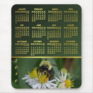 Bee Me 2016 Calendar Mouse Pad